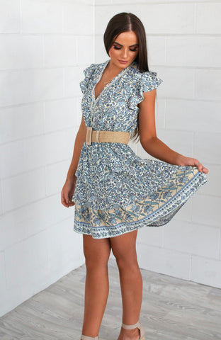Blue Havana Dress