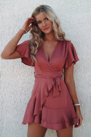 Rose Butterfly Dress