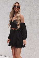 Serenity Dress - Black - Runway Goddess