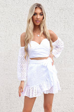 Serenity Dress - White - Runway Goddess