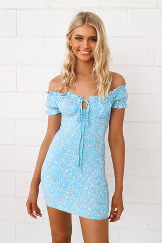 Sunny Off Shoulder Dress