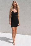 Jolie Dress - Black - Runway Goddess