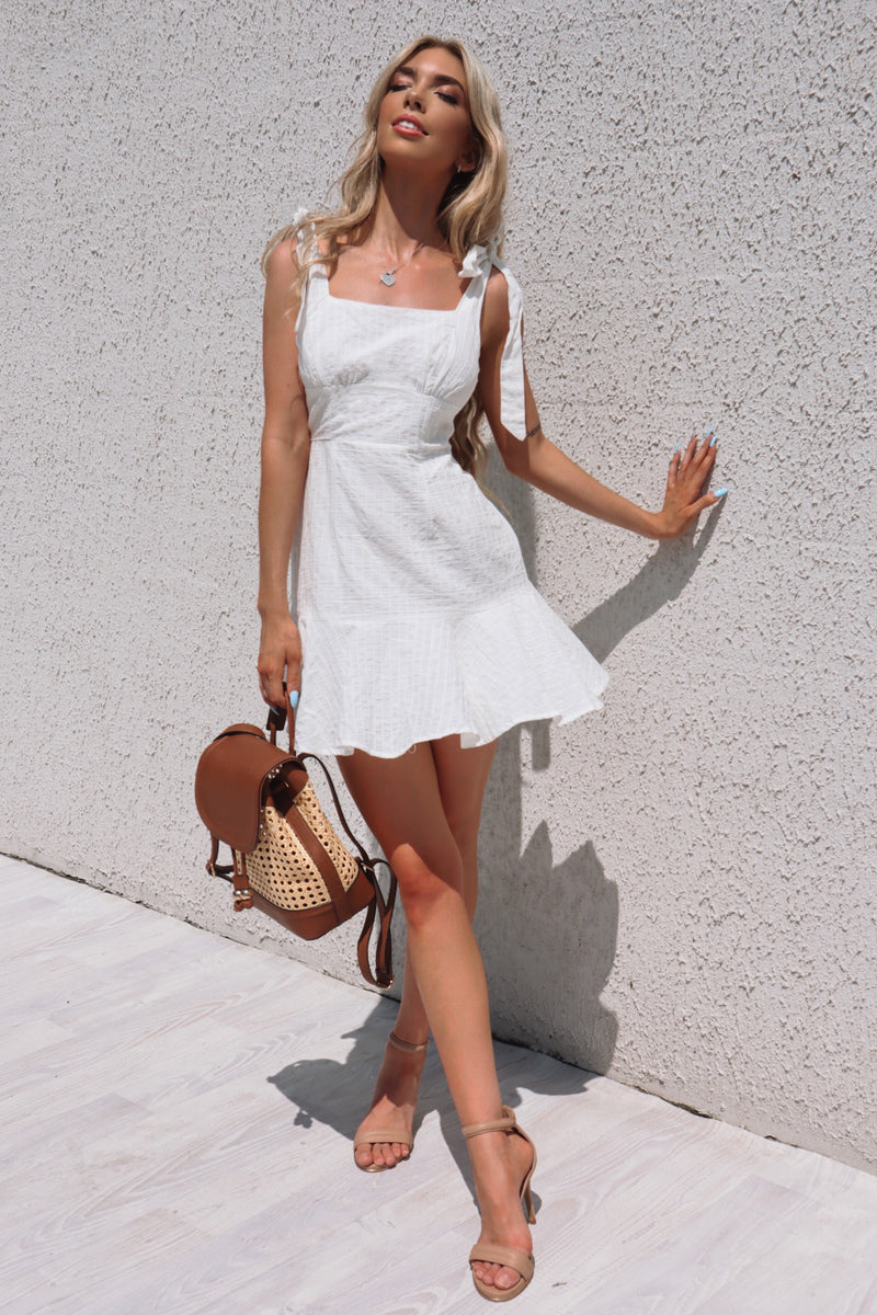 Coconut dream Dress - Runway Goddess