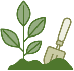 Planted Trees Icon