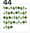 44 trees as a present - Small Forest