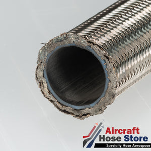 (Size 08) 666-8 Eaton Aeroquip Aerospace Hose MIL-DTL-27267-8 by the foot