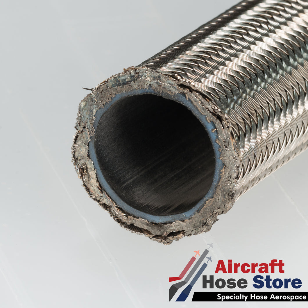 (Size 04) 666-4 Eaton Aeroquip Aerospace Hose MIL-DTL-27267-4 by the foot