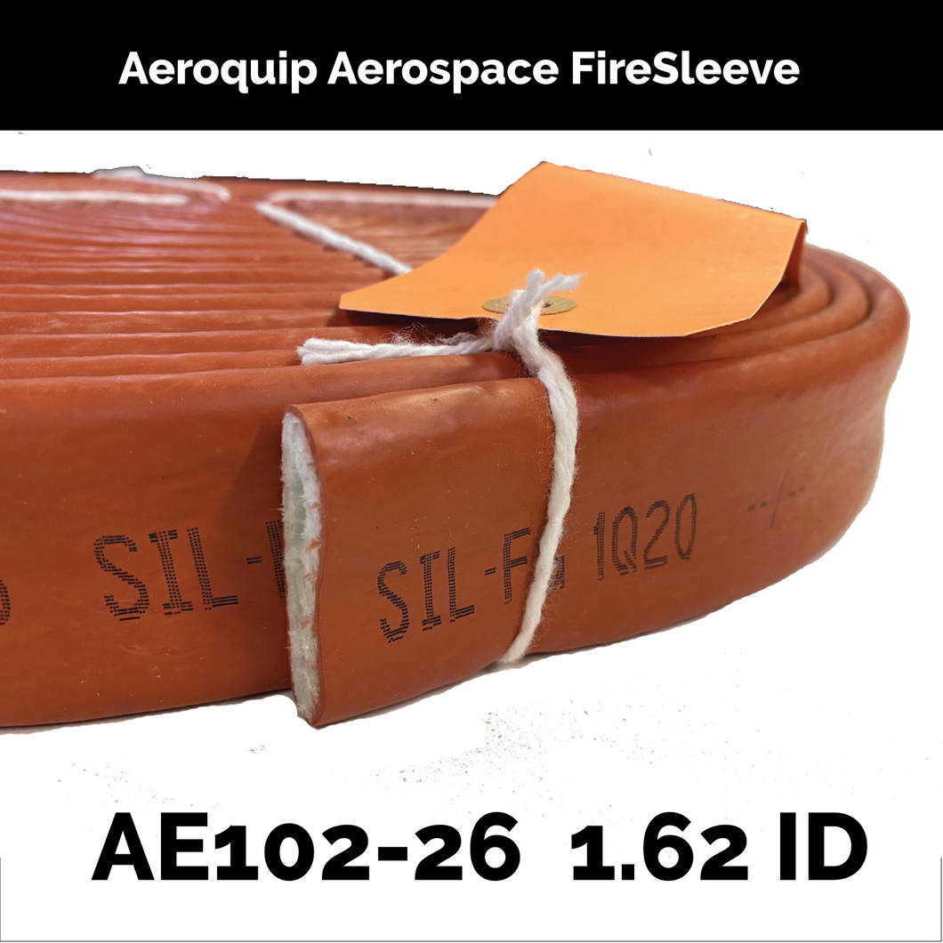 AE102-26 Eaton Aeroquip Aerospace FireSleeve (1.62 inch ID ) By The Foot