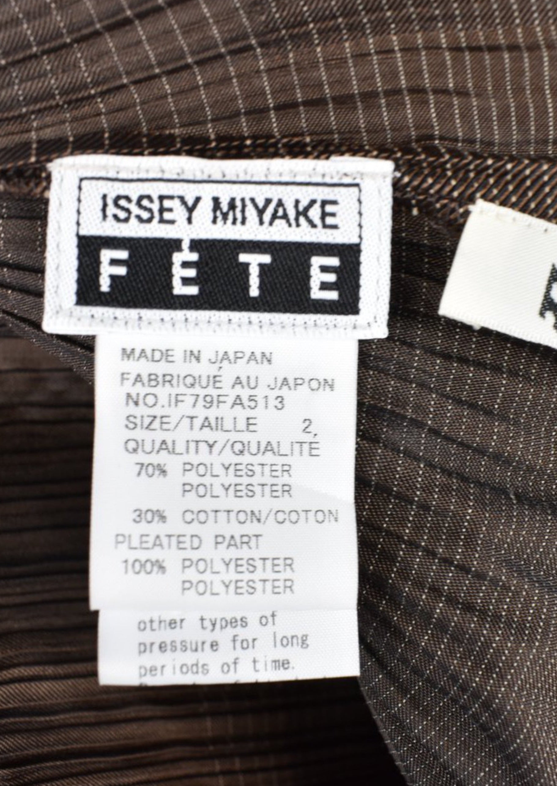 Pleated Izzy Miyake Dress, Made in Japan