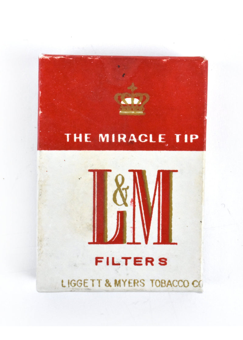 L & M Cigarette Lighter by Continental in Original Box - Liggett and Meyers Tobacco Company