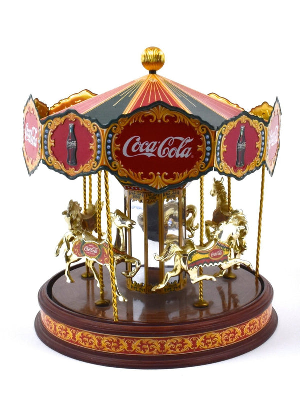 Vintage Coca Cola Musical Carousel by The Franklin Mint