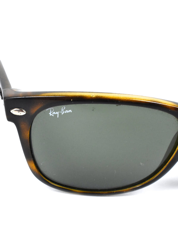 Ray Ban 2123 Tortoise Shell Wayfarer Sunglasses, Made in Italy
