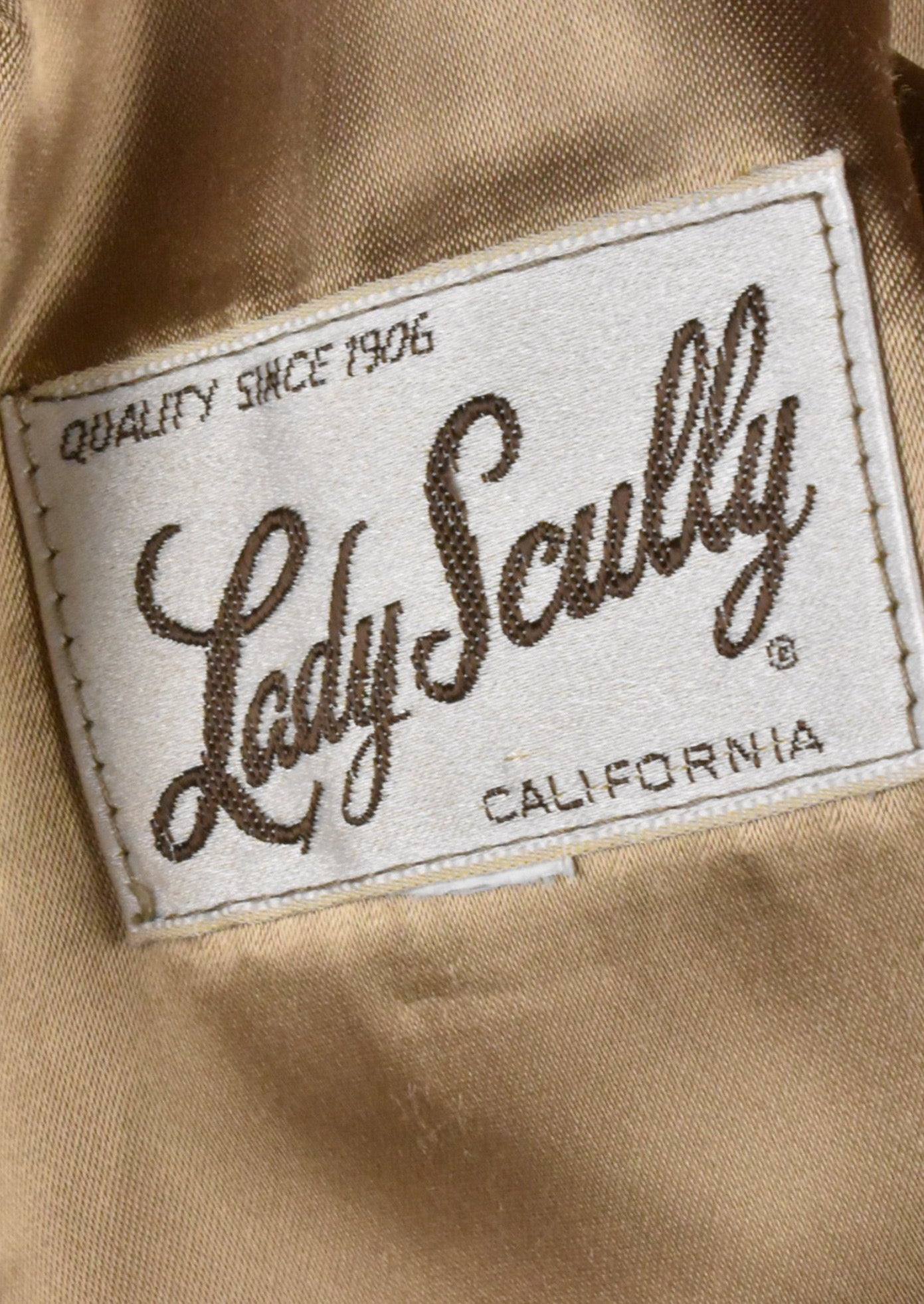 Lady Scully Leather Blazer