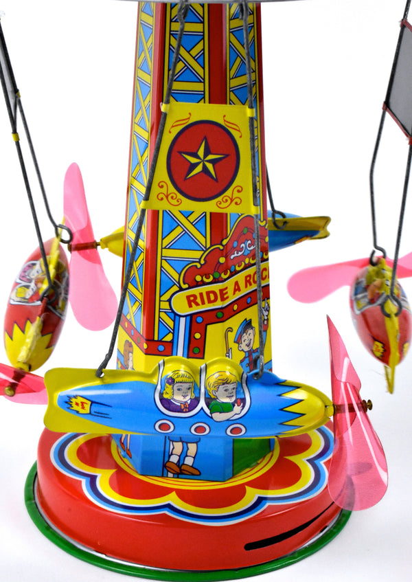 Schilling Toys Rocket Ride Collector Series in Wonderful Condition