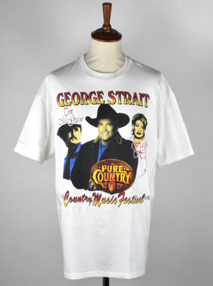 Vintage George Straight Tour T-Shirt with Faith Hill and Tim McGraw