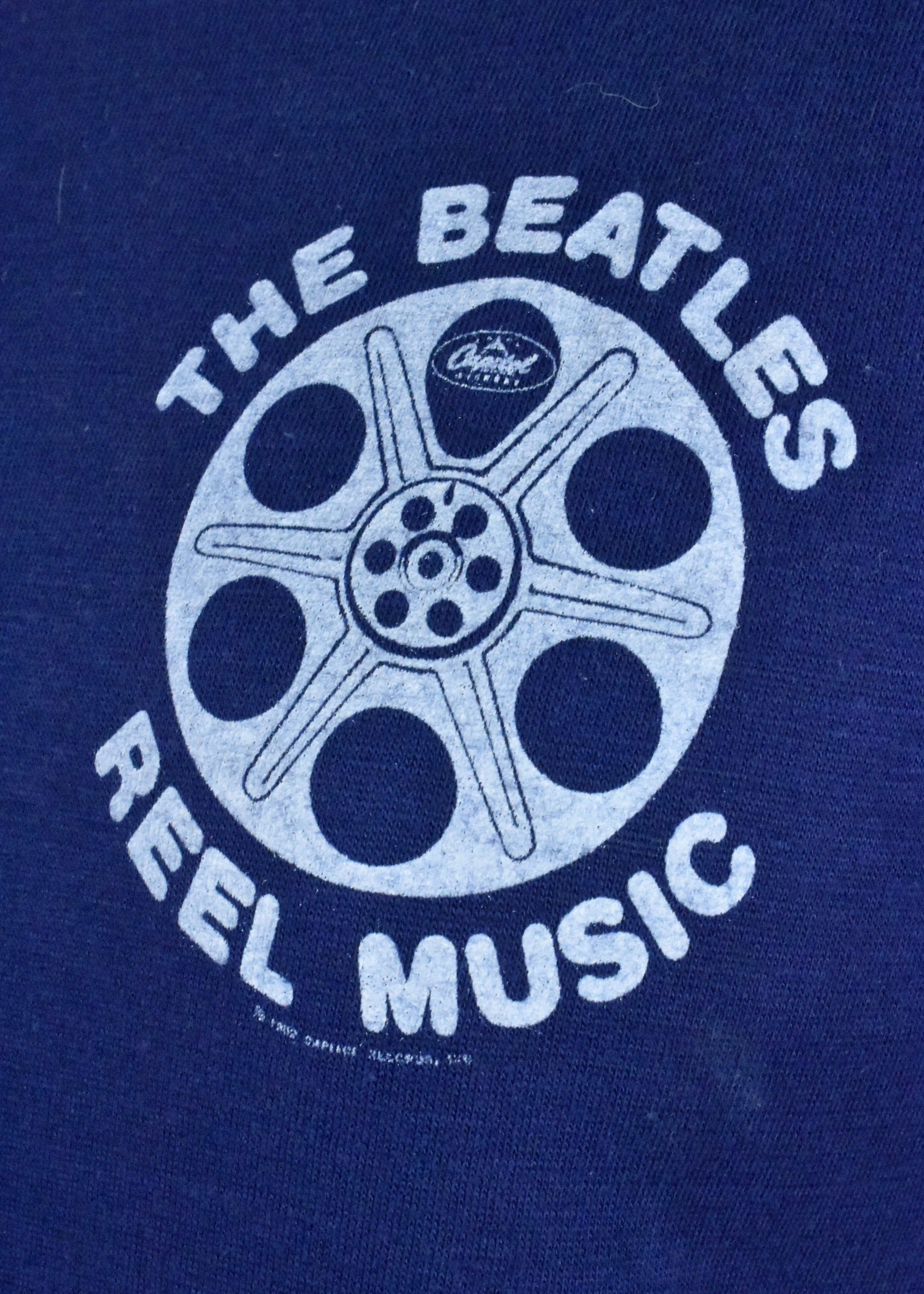 1982 The Beatles Reel Music T-Shirt - Authentic Vintage!