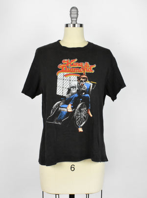 Original 1988 King Diamond T-Shirt - King Diamond Wheelchair T-Shirt