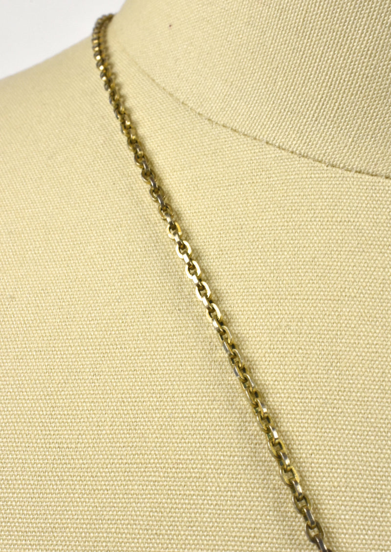 Mid Century Modern Sheffield Pendant Watch on Long Chain