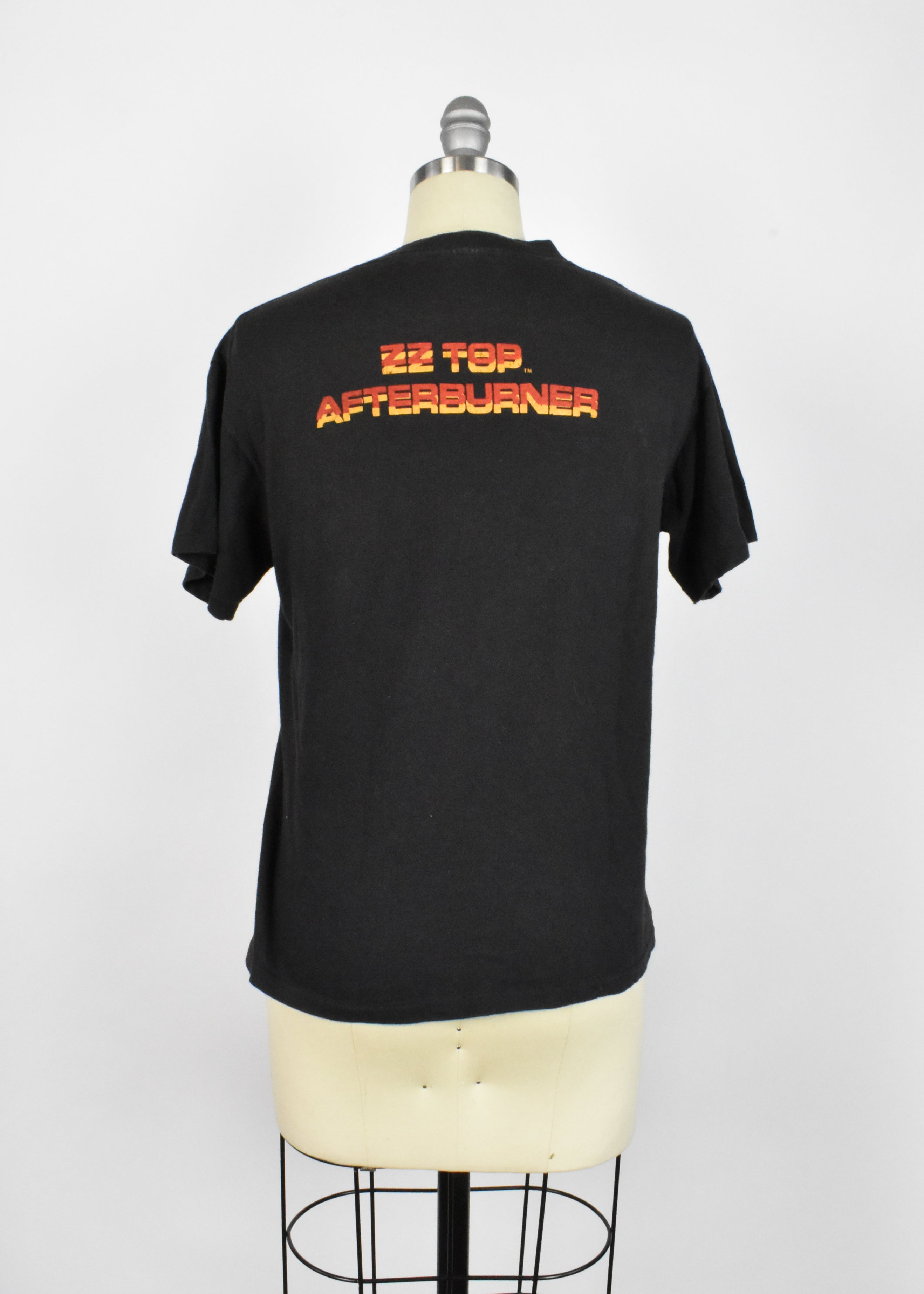 1986 ZZ Top Afterburner T-Shirt - Spring Ford Label