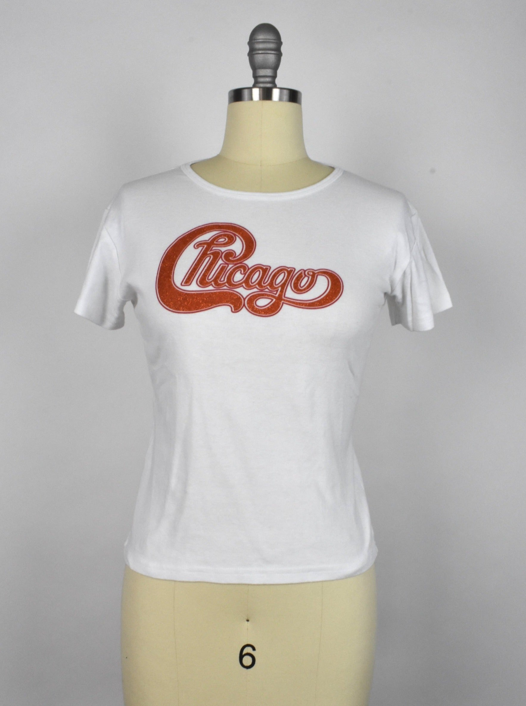 Vintage Chicago (band) Glitter Logo T-Shirt