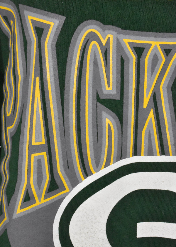 90's Green Bay Packers Sweatshirt by Russell Athletic