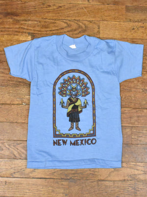 Vintage 70's-80's Kids New Mexico Corn Maiden T-Shirt
