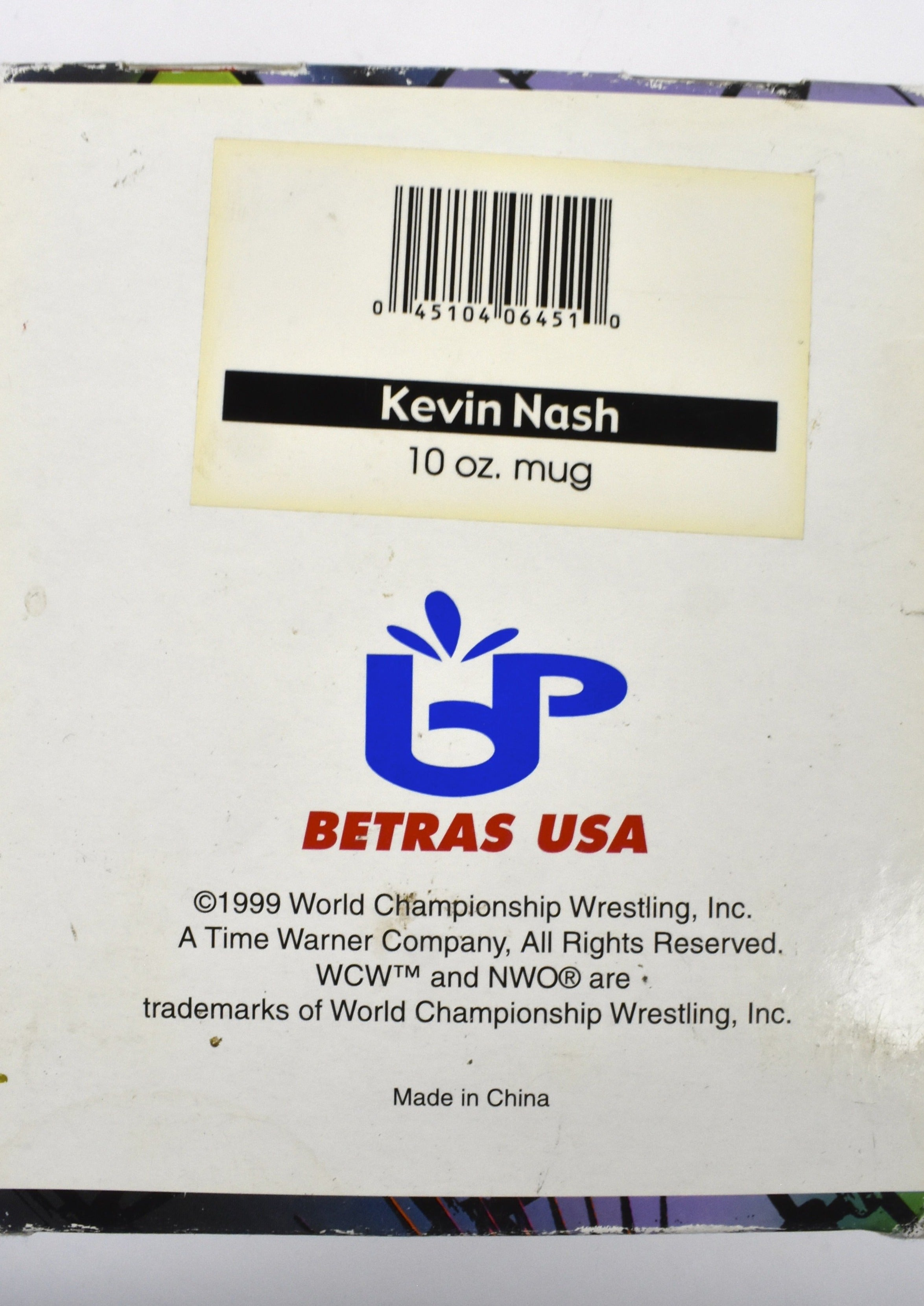 1999 Head Slammers NWO Kevin Nash 10 oz. Mug - World Championship Wrestling