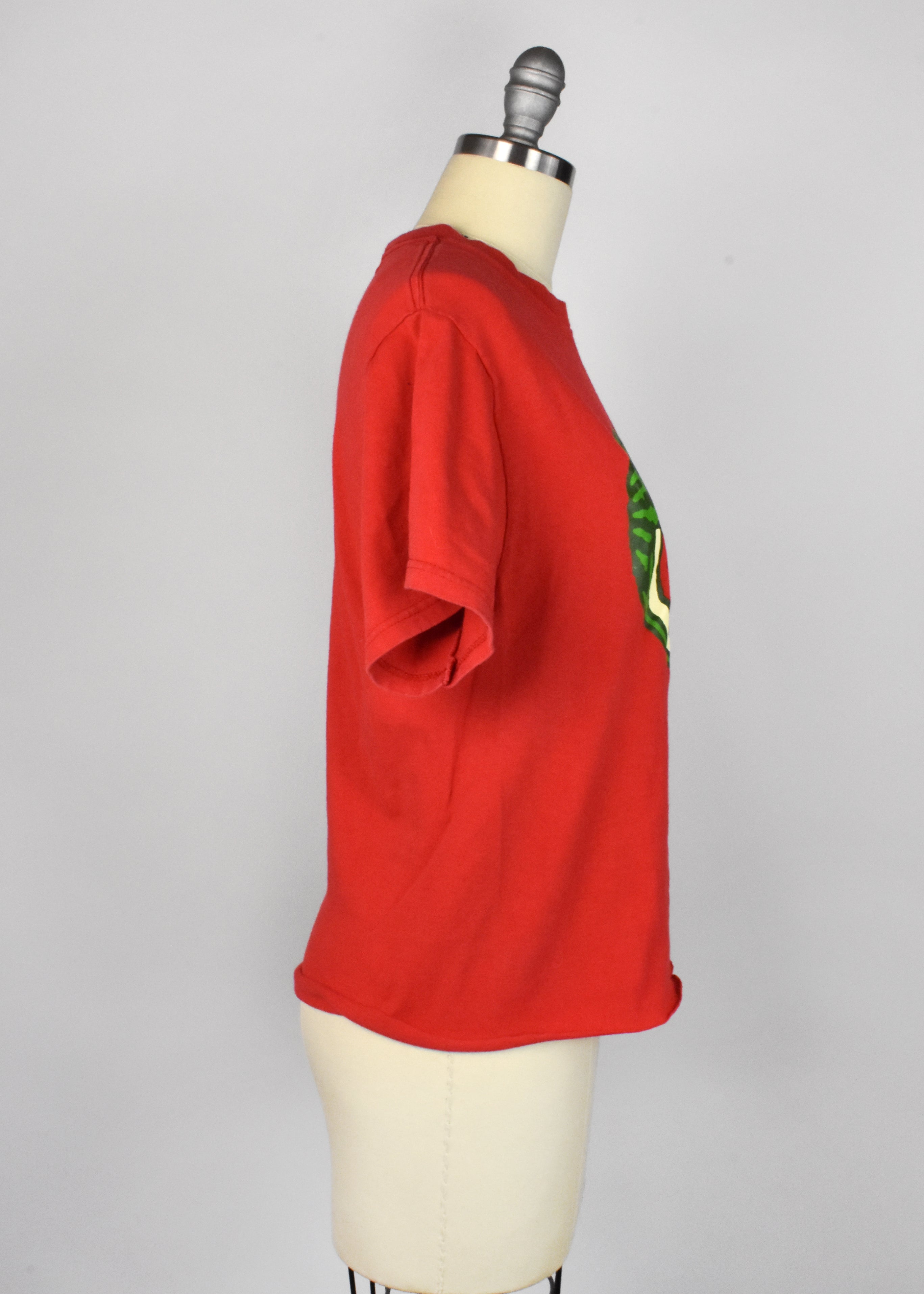 Cropped Red Watermelon T-Shirt