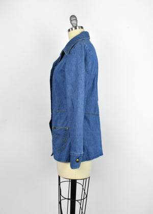 Vintage 1970's Lady Lee Denim Jacket