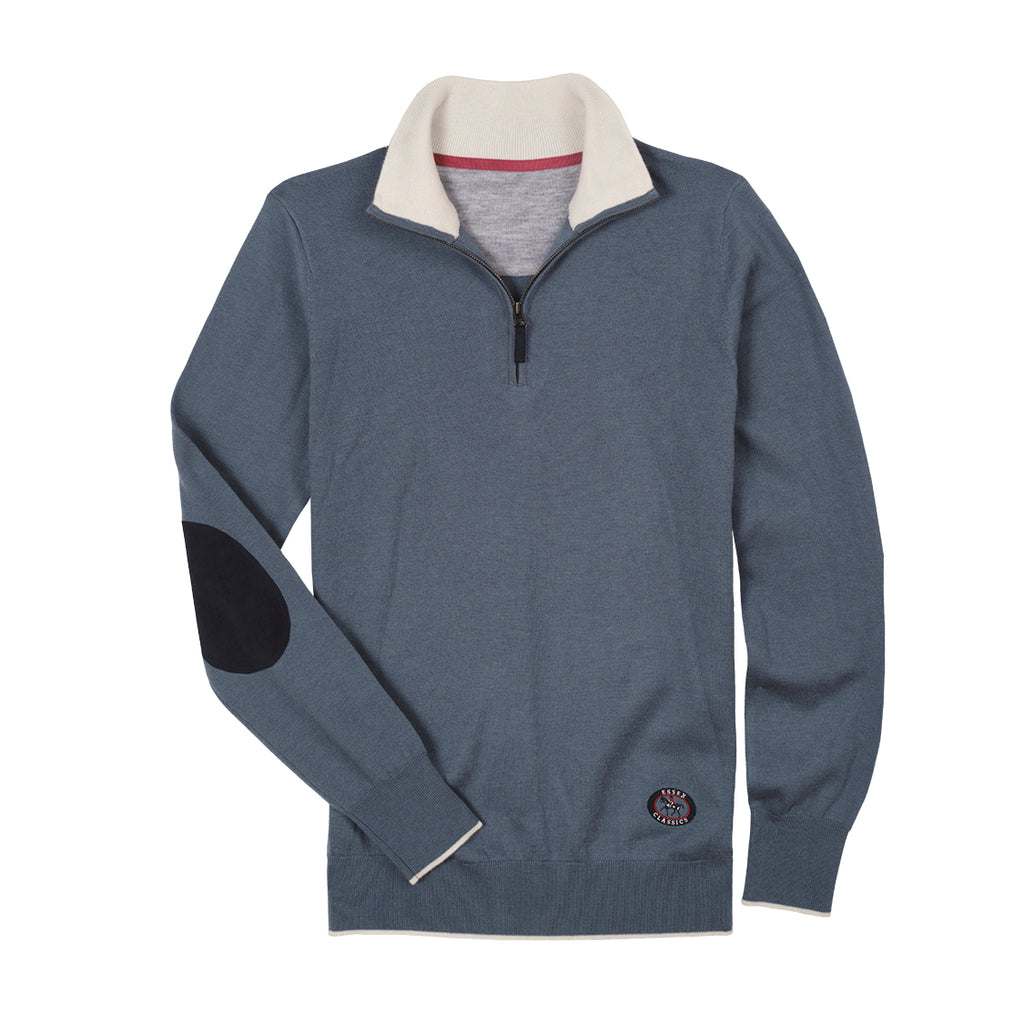 Essex Classics Quarter Zip Sweater