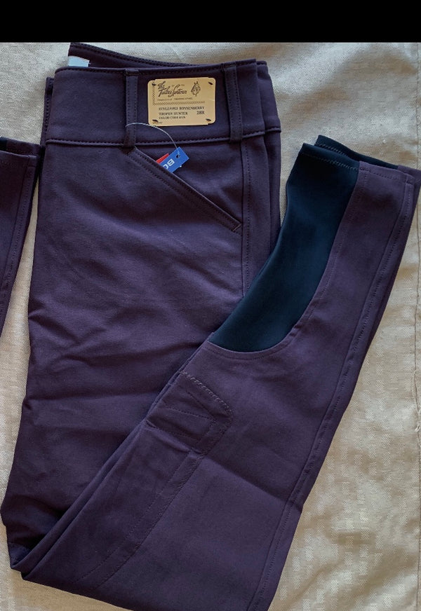 Tailored Sportsman Boot Sock Breeches: Mid Rise, Front Zip Colors