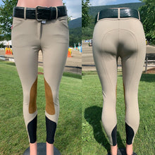 Load image into Gallery viewer, Tailored Sportsman Boot Sock Breeches: Tan