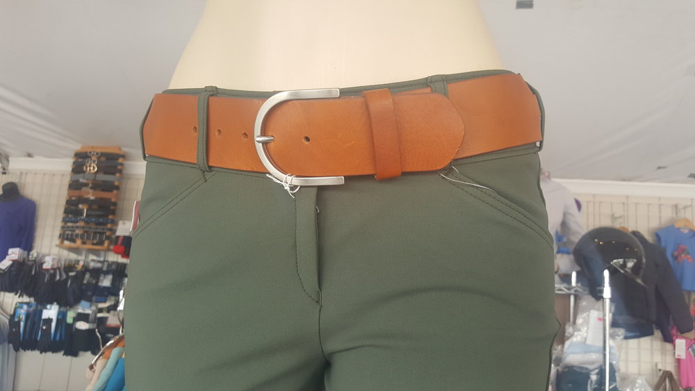 Tailored Sportsman Twisted Leather Belt