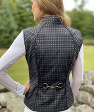 Load image into Gallery viewer, Arista Equestrian Stretch Vest with Bit Detail