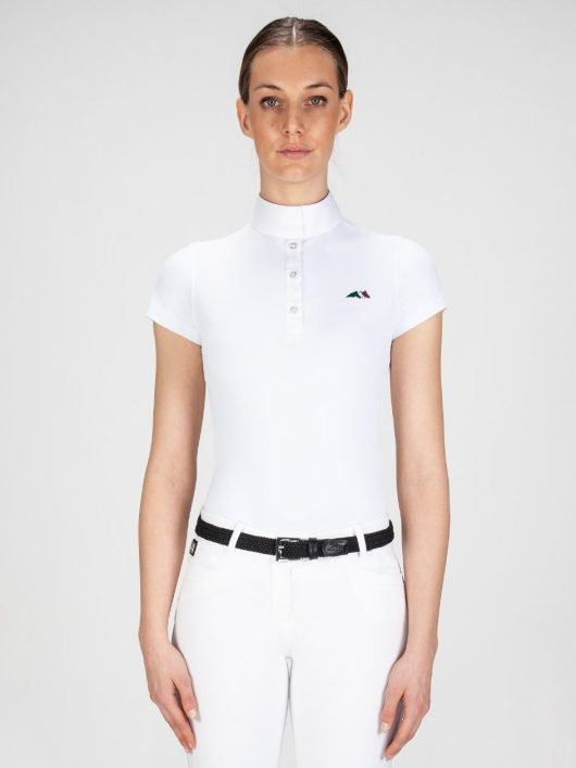 Equiline Isabel Short Sleeve Show Shirt