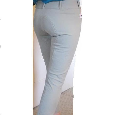 Tailored Sportsman Ladies Trophy Breeches--Tan Low and Mid Rise