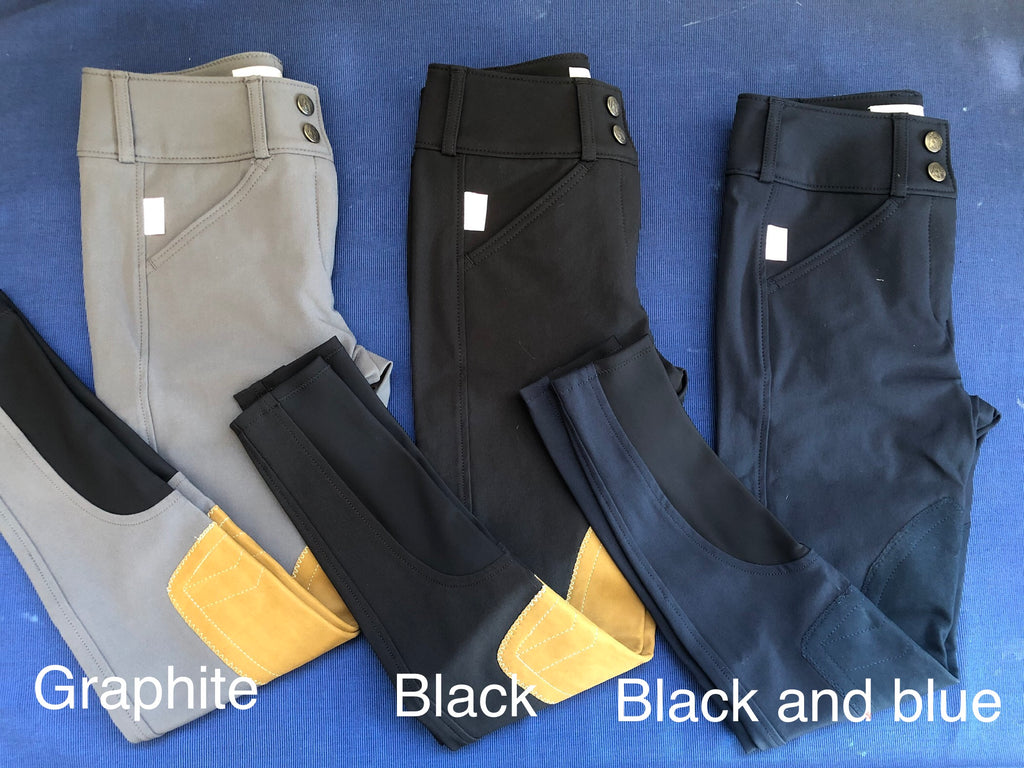 Tailored Sportsman Boot Sock Breeches: Girls