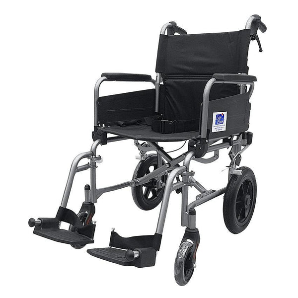Aluminium Light Weight Detachable Push Chair with Assisted Brake - Lifeline Corporation