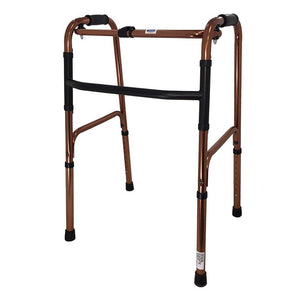 Aluminium Foldable Walking Frame with Glydesafe® - Lifeline Corporation
