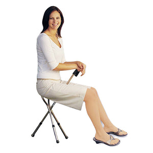 Folding Seat Cane - Lifeline Corporation