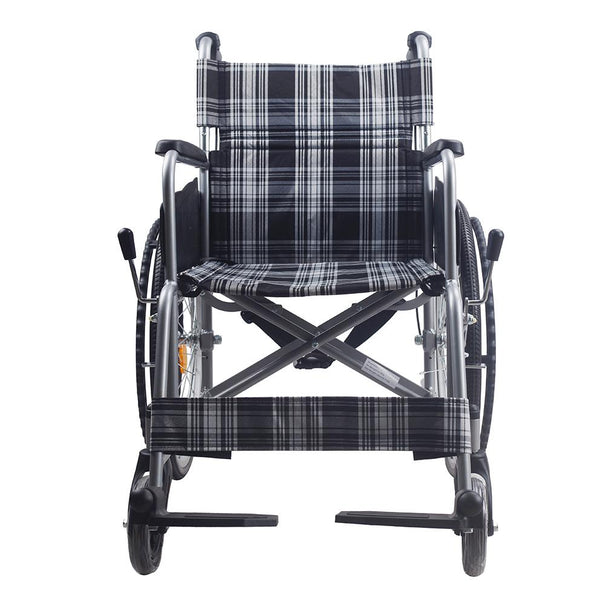 Aluminium Light Weight Standard Wheelchair - Lifeline Corporation
