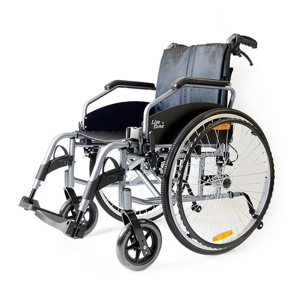 Aluminium Light Weight Detachable Wheelchair - Lifeline Corporation