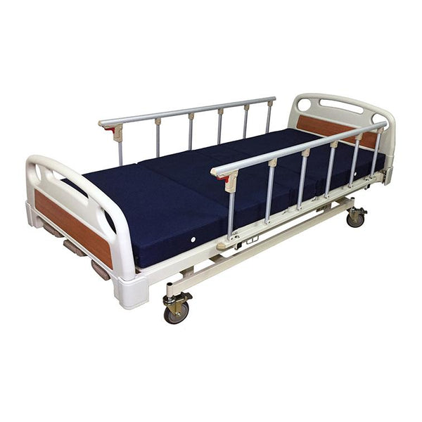 3 Crank Manual Hospital Bed - Lifeline Corporation