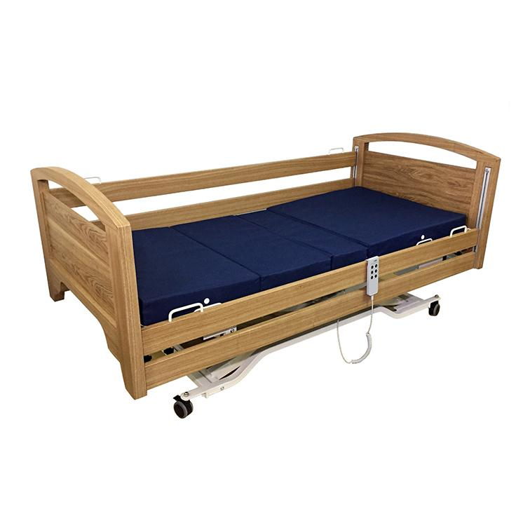 Electric Wooden Hospital Bed - Lifeline Corporation