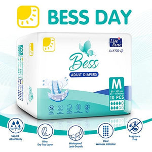 BESS Day Adult Diapers - Lifeline Corporation