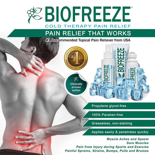 Biofreeze Pain Relief - Pump, 32oz - Lifeline Corporation