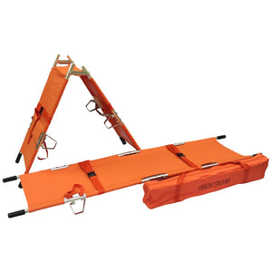2-Fold Emergency Stretcher with Carrying case - Lifeline Corporation