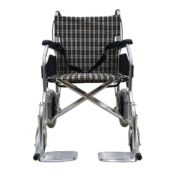 Light Weight Push Chair with Assisted Brake - Lifeline Corporation