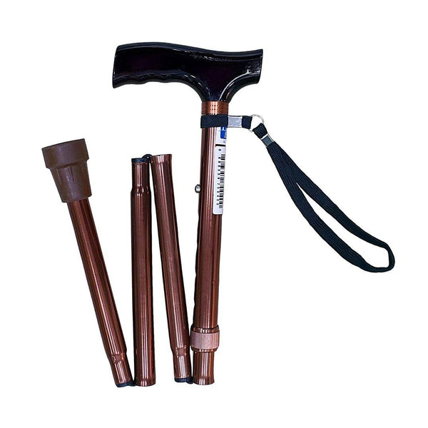 Aluminium Foldable Walking Stick - Lifeline Corporation