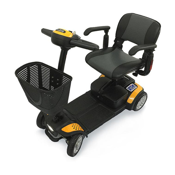 GEM 4 Wheel Scooter – 12AH - Lifeline Corporation